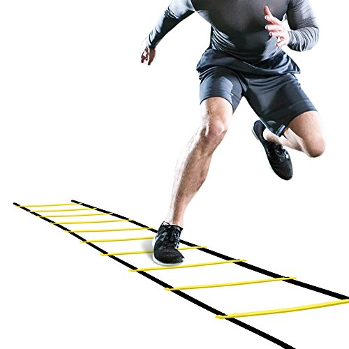 GHB Pro Agility Ladder Agility Training Ladder Speed 12 Rung 20ft with...