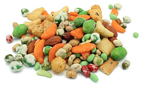 Oregon Farm Fresh Snacks Wasabi Pea Mix and Crackers - Locally Sourced and...