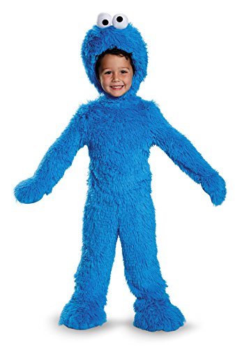 Cookie Monster Extra Deluxe Plush Costume, Small (2T)