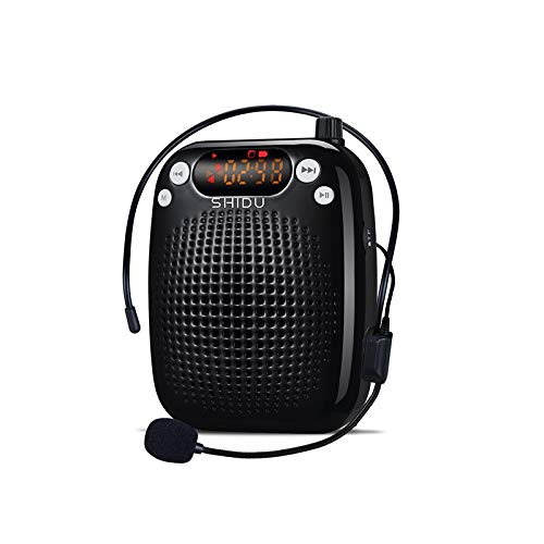 Portable Voice Amplifier,Personal Speaker Microphone Headset...