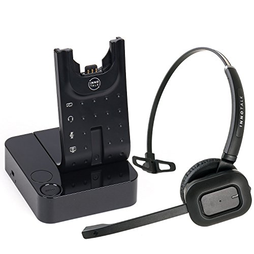 Wireless Headset Compatible with Polycom Soundpoint IP 320 321 330 331 335...