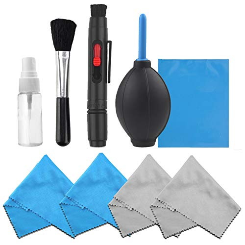 Professional Camera Cleaning Kit for DSLR Cameras- Canon, Nikon, Pentax,...