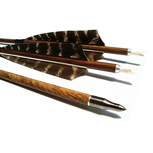 Archery Hunting Carbon Arrows, MS Carbon Fiber Arrow Spine 400 with...