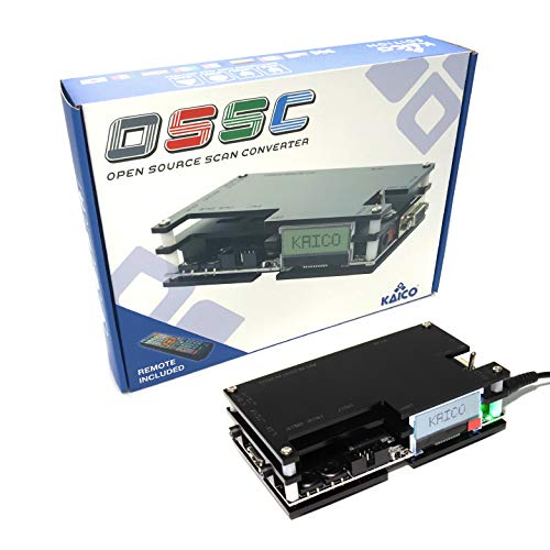 Kaico Edition OSSC Open Source Scan Converter 1.6 with SCART, Component and...