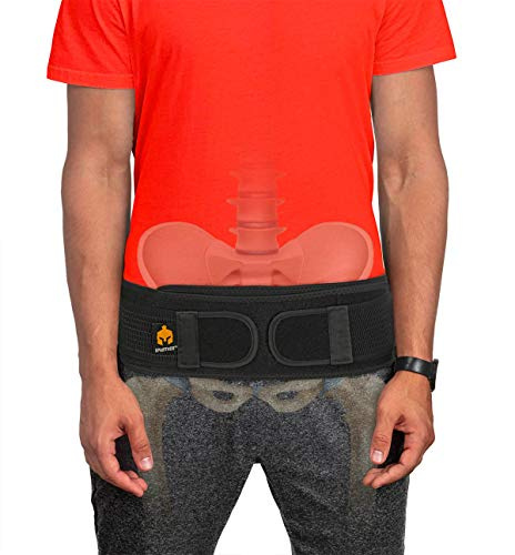 Sacroiliac Si Hip Belt by Sparthos - Relief from Si Joint, Sciatica,...