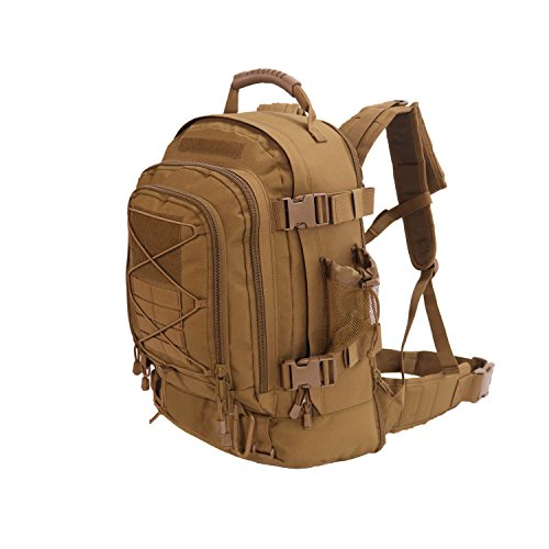 ARMYCAMO Outdoor 3 Day Expandable 40-64L Backpack Military Tactical Hiking...