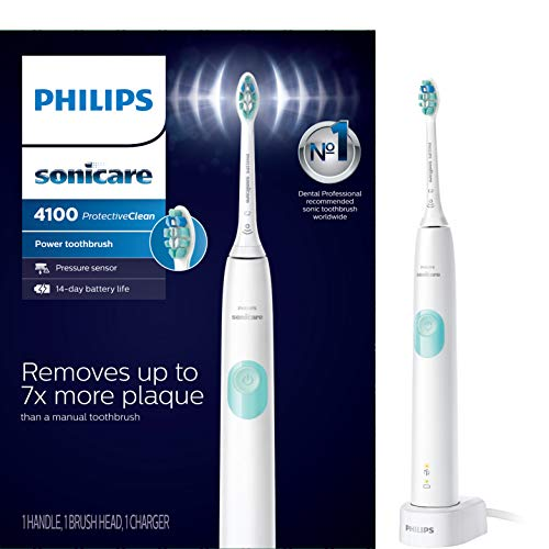 Philips Sonicare HX6817/01 ProtectiveClean 4100 Rechargeable Electric...