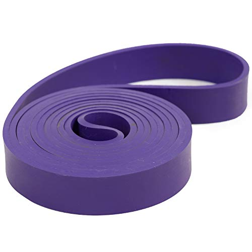 Serious Steel Fitness Latex Free 41' Purple Pull Up and Resistance Band (#2...