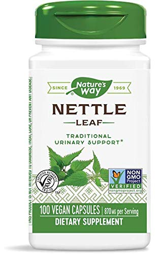 Nature's Way Nettle Leaf 435 mg, TRU-ID Certified, Non-GMO Project,...