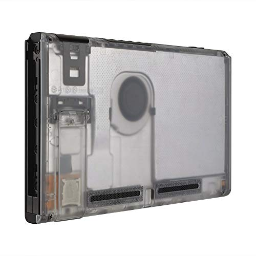 eXtremeRate Transparent Clear Console Back Plate DIY Replacement Housing...
