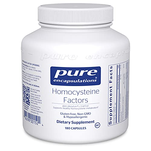Pure Encapsulations Homocysteine Factors   Supplement to Support Normal...