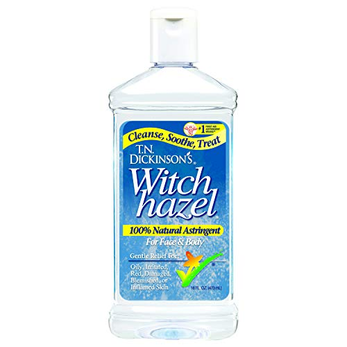T.N. Dickinson's Witch Hazel Astringent for Face and Body, 100% Natural, 6...