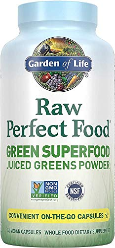 Garden of Life Raw Perfect Food Green Superfood Juiced Greens Powder...