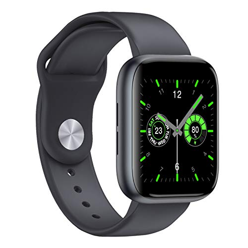 Smart Watch, 1.55 Inch Colorful Touch Screen Smartwatch, Water Resistant...