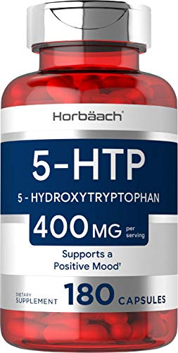 5HTP Supplement | 400mg 180 Capsules | 5-HTP Extra Strength| Non-GMO,...