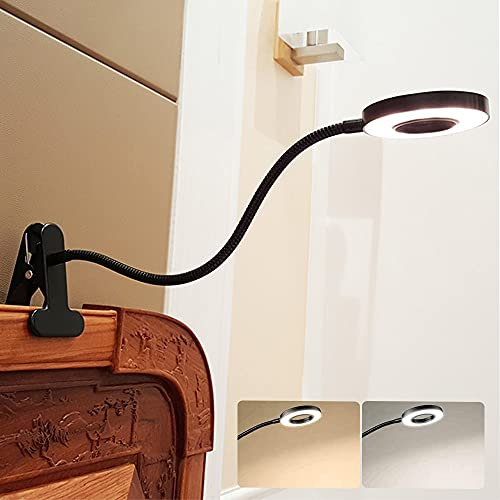 W-LITE 6W LED USB Reading Light Clip Laptop Lamp for Book,Piano,Bed...