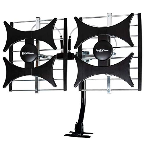 [Newest 2021] Five Star Multi-Directional 4V HDTV Amplified Antenna - up to...