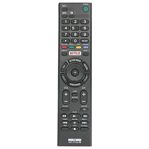 RMT-TX100U Replaced Remote fit for Sony Bravia TV XBR-65X890C XBR-55X890C...