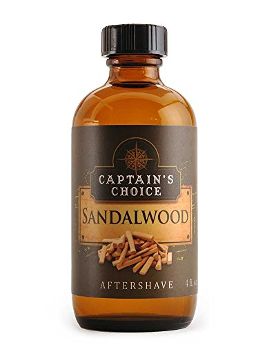 Sandalwood Aftershave 4oz after shave by Captain's Choice