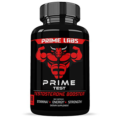 Prime Labs - Men's Test Booster - Natural Stamina, Endurance and Strength...