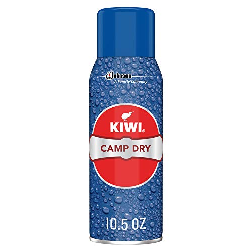 KIWI Camp Dry Performance Fabric Protector Spray - Restores Water Repellent...