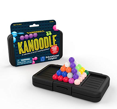 Educational Insights Kanoodle 3-D Brain Teaser Puzzle Game for Kids, Teens...