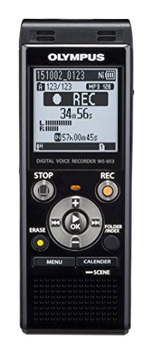 Olympus Voice Recorder WS-853 with 8GB, Voice Balancer, True Stereo Mic