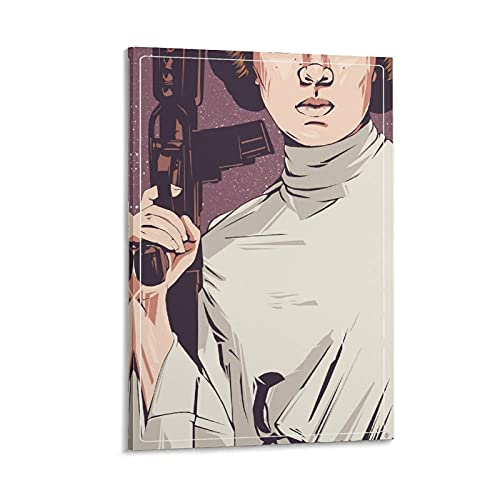 SHOYY Princess Leia Resistance Campaign Poster Poster Decorative Painting...