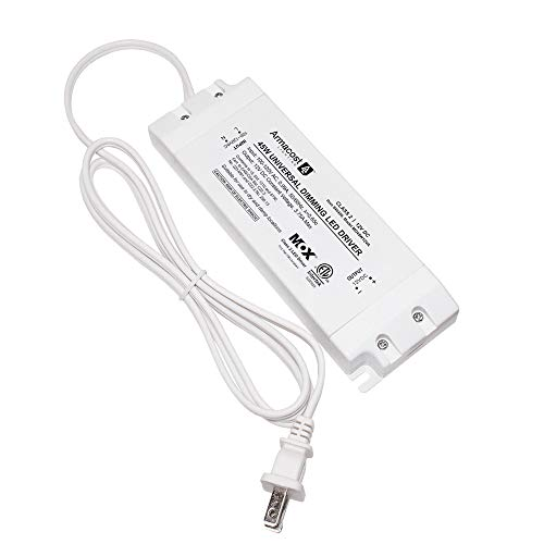 Armacost Lighting 840450 for LED Lighting, with Removable AC Cord, 45 Watt,...