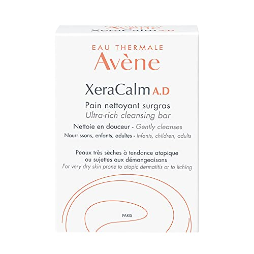 Eau Thermale Avene Xercalm A.D Ultra-Rich Cleansing Bar for Atopic...
