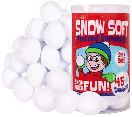 Narwhal Novelties Snow Soft; Snowball Fights - Indoor Snowballs - Fake...