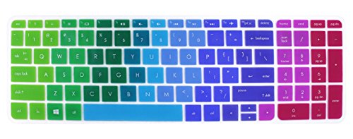 Keyboard Cover Skins Compatible for 15.6' HP Pavilion 15-ab 15-ac 15-ae...