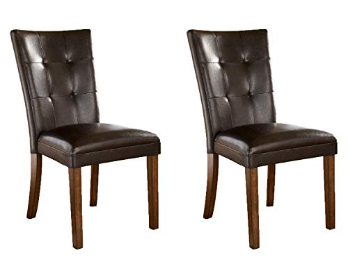 Signature Design by Ashley Lacey Classic Dining Room Chair Set of 2, Medium...