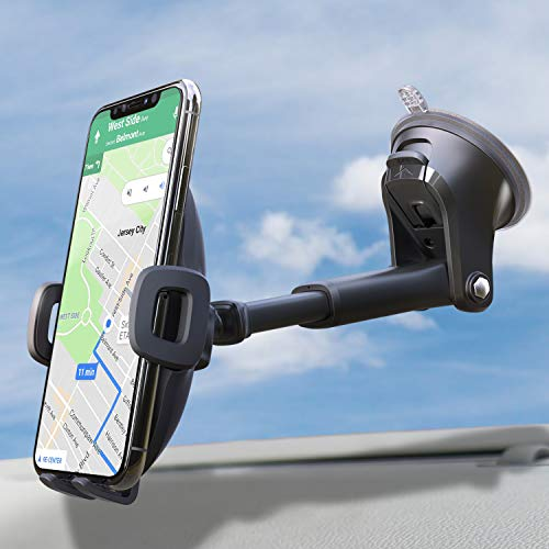 Suction Cup Phone Holder for Windshield/Dashboard/Window, Universal...