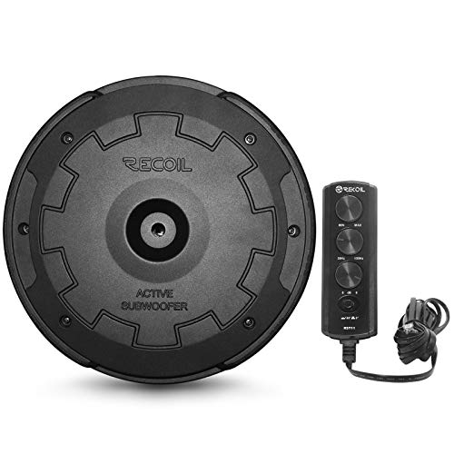 """Recoil RST11 Hidden 11"""" Powered Active Car Subwoofer Spare Tire Sub for..."""