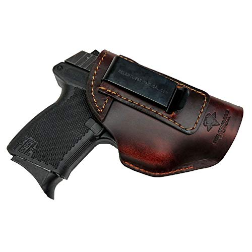 Relentless Tactical The Defender Leather IWB Holster - Made in USA - Fits...