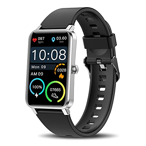 Smart Watch for Android / iOS Phone ,1.57' Touch Screen Fitness Tracker...