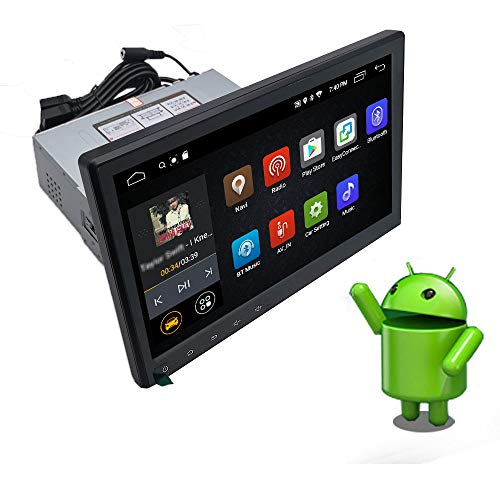 YODY 10.1 Inch Single Din Android 10.0 Car Stereo Support Bluetooth WiFi...