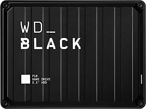 WD_BLACK 2TB P10 Game Drive - Portable External Hard Drive HDD, Compatible...