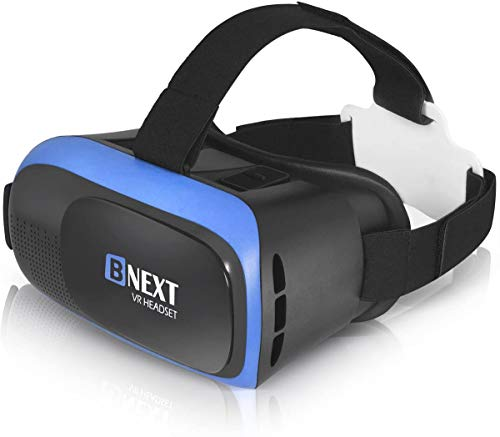 VR Headset Compatible with iPhone & Android Phone - Universal Virtual...