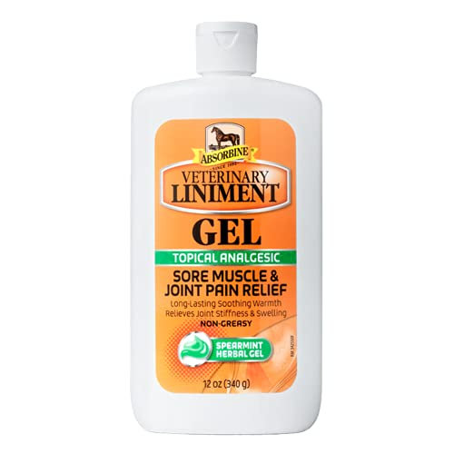 Absorbine Veterinary Liniment Topical Analgesic Sore Muscle and Arthritis...