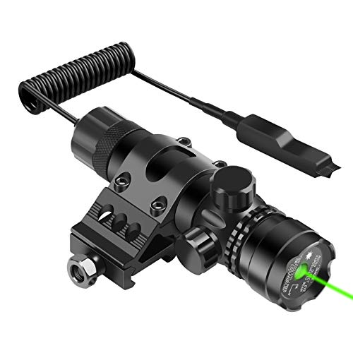 Feyachi GL6 Green Laser Sight with 45 Degree P13 Picatinny Rail Mount and...