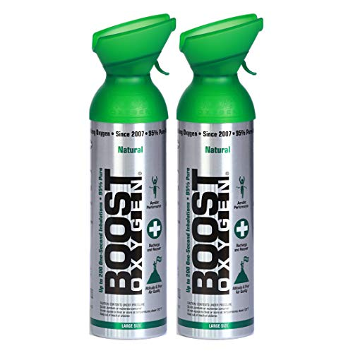 Boost Oxygen Supplemental Oxygen to Go   All-Natural Respiratory Support...