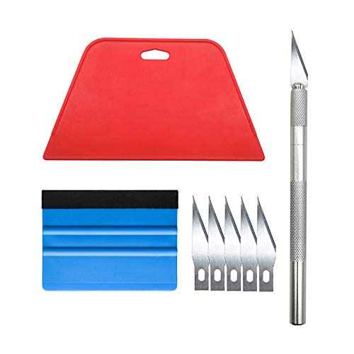 Wallpaper Smoothing Tool Kit for Adhesive Contact Paper Application Window...