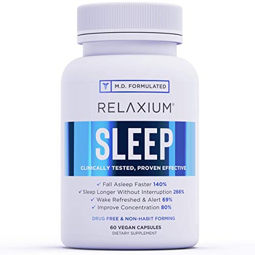 Relaxium Natural Sleep Aid   Non-Habit Forming   Sleep Supplement for...