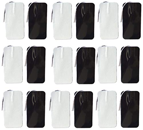 Tens Unit Replacement Pads 20 Pack 2x4 inch Large Size Reusable up to 25...