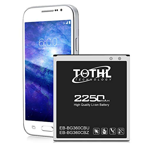 Battery for Galaxy Core Prime, TQTHL 2250mAh Li-ion Replacement Battery for...