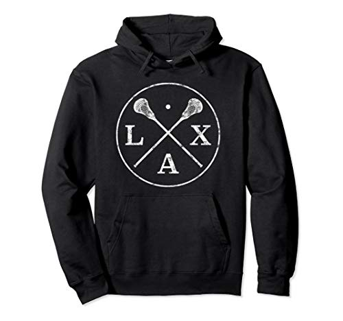 LACROSSE Logo Hoodie I LAX Player and Fan design