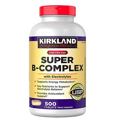 Kirkland Signature One Per Day Super B-Complex with Electrolytes,500...