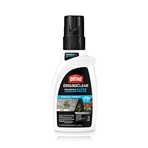 Ortho GroundClear Weed and Grass Killer Super Concentrate - Kills Weeds and...